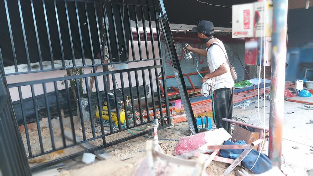 Jasa Pembuatan Pagar Besi Minimalis Cv Serba Indah Banda Aceh
